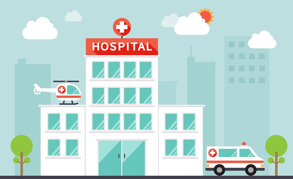 Register at the Hospital